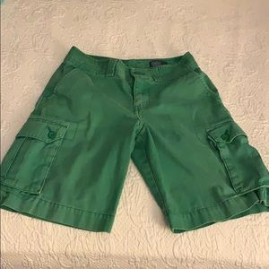 Polo by Ralph Lauren Green Cargo Shorts. Boys 10
